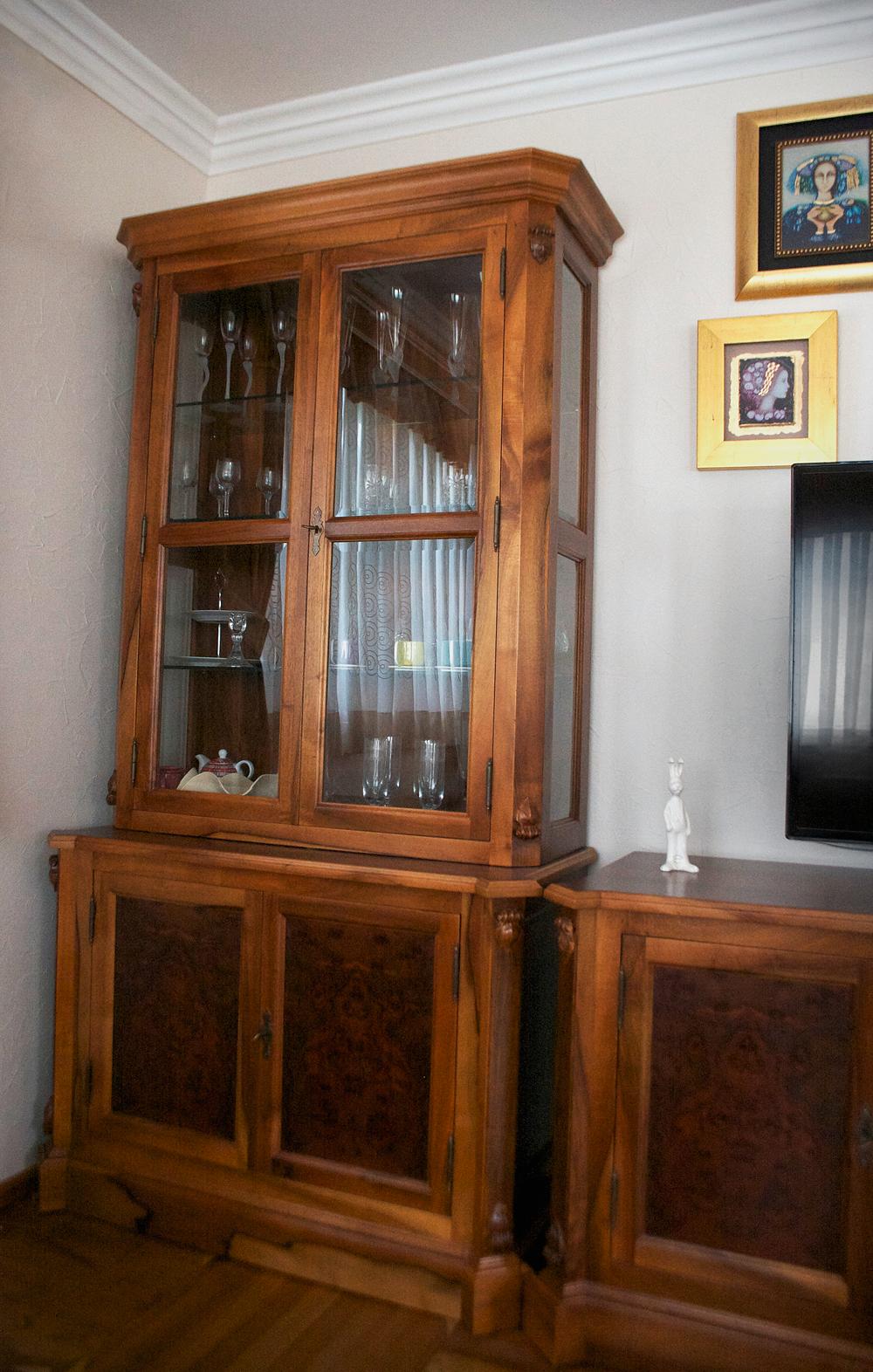 Dnevna soba - vitrina